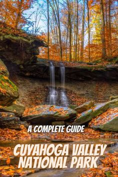 A full guide to Cuyahoga Valley National Park. national parks USA   USA national parks   national park camping   state parks USA   #CuyahogaValleyNationalPark #USAnationalparks #nationalparks #nationalparkcamping Best National Parks Usa, National Park Camping, Most Visited National Parks, State Parks, Waterfall, Usa Usa, Vacation Ideas, Travel, Outdoor