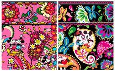 ♥ Disney-Inspired Handbags and Accessories Patterns by Vera Bradley #Disney