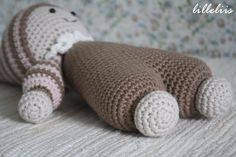 PATTERN Cuddly-baby crochet pattern amigurumi by lilleliis
