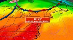 Heat in the Northeast will linger, but a cold front is on the way. When will it cool off? The Lift has the details. Watch us on your Weather Channel app or weather.com right now.  Follow us on twitter and catch up M-F  https://lnkd.in/bThJ74G