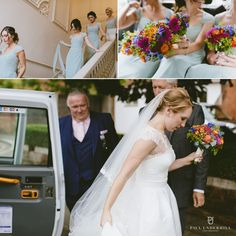 Arriving at Morden Hall Wedding Venue in London