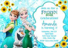 Frozen Invitation  Printable Princess Frozen by kidspartypixel