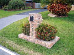 Brick Mailbox 4