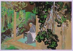 O todo benevolente Nichiren Daishonin Sama, foi exilado para morrer, mas os deuses e seus discípulos sempre estiveram com ele.