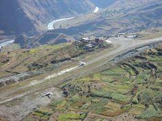 Juffal airport, Dolpa, Nepal.