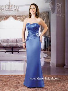 69ba5598 Lace-Up Back Satin Gown Wedding Bridesmaid Dresses, Wedding Party Dresses,  Yellow Wedding