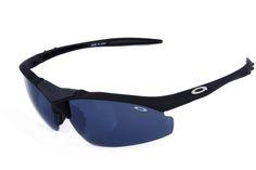 Oakley Flak Jacket Semi-Rimless Black CPS
