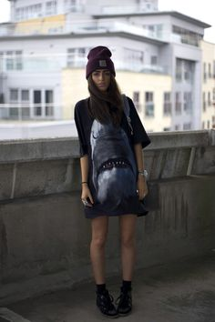 Urban fashion.. Givenchy Shark Tee & Isabel Marant Designer Sneakers