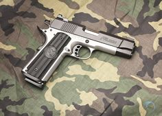 """One of the distinctive features of the NIGHTHAWK CUSTOM FIREARMS Falcon Commander is its one-piece fully machined mainspring/magwell combination cut from a 2½"""" block of tool steel"""