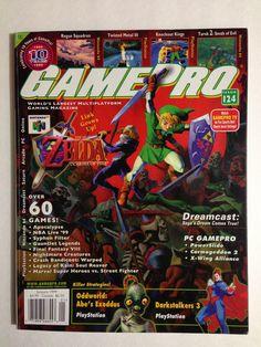 Gamepro January 1999 #gaming #gamer #magazines