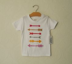 organic cotton, toddler graphic tee, aztec print, trendy, tribal, hipster, arrows, eco friendly, felt applique, childrens clothing, t-shirt - pinned by pin4etsy.com