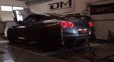 Tuned Nissan GT-R Breathes Air, Spits Fire During Dyno Run #news #Armytrix