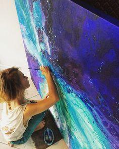I Found el camino de mi vida, que era un chapoteo de la pintura de distancia | aburrido Panda