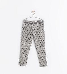 ZARA - ENFANTS - Pantalon imprimé