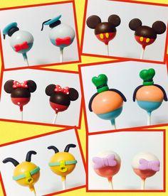 Cakepops Casa Mickey Mouse Pluto Pateta Margarida  Minnie  Donald