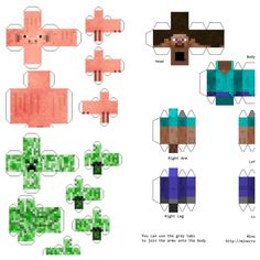 Minecraft Paper Steve Minecraft Steve Paper Template Lovely Minecraft En Papelpapercraft T in To 79 Impeccable Ideas Minecraft Paper SteveCreative Tutorials Minecraft Paper Steve How To Make The Ultimate. Minecraft Box, Minecraft Templates, Hama Beads Minecraft, Minecraft Pixel Art, Minecraft Crafts, Minecraft Party, Steve Minecraft, Images Minecraft, Craft Ideas
