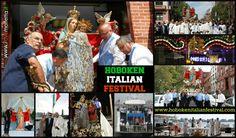 the feast of the Madonna dei Martiri emigrates from Molfetta - Puglia - Italy www.ilovemolfetta.it