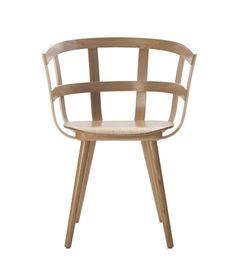 Stuhl aus Holz mit Armlehnen JULIE by Inno Interior Oy Design Julie Tolvanen