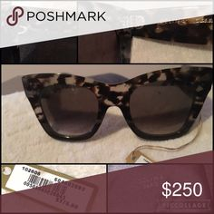 0df678dda6ad Céline Sunglasses Havana Honey Smoke Gray Tortoise. Never Worn. Tag  Attached. Brand