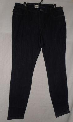 New Womens Rock & Republic stretchy Low Rise Super Skinny SZ 16 Legging Jeans #RockRepublic #SlimSkinny