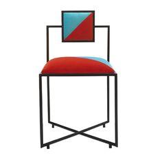 Coral and Tiffany Capri Chair - Shop Francesco Della Femina online at Artemest