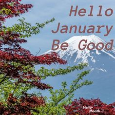 Hello January Be Good January Bullet Journal, Bullet Journal Cover Page, Journal Covers, Hello January Quotes, Fireflies In A Jar, Cover Pics For Facebook, Roller Pen, Summer Wedding Outfits, New Year Wallpaper