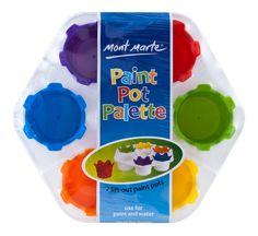 Mont Marte Paint Pot Palette for Kids Art and Craft Painting Tools, Painting For Kids, Artist Painting, Art For Kids, Art Shed, Painting Accessories, Palette, Learning Colors, Painted Pots