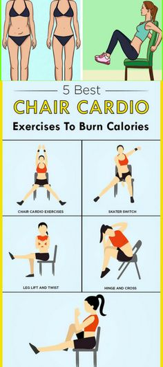 Burn More Calories By Doing These 5 Best Cardio Exercises On Chair – Healthy National