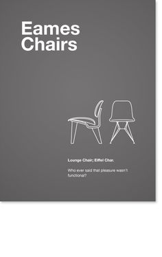 #Eames Poster