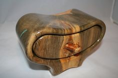 Beetle Kill Pine Trinket Box or Bandsaw Box by CreationsByPaul, $50.00