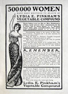 1901 ad Quack Medicine Lydia Pinkham's Vegetable by MyPaperedPast, $7.00