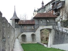 Gruyere, Switzerland --- Castle