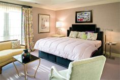 Transitional (Eclectic) Bedroom by Irwin Weiner