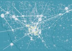The epicenters of the metropolitan area | Milan | research map | urban planning
