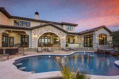 Clean European   Vanguard Studio   Architect Austin, Texas Pool Remodel, Ranch Remodel, Texas Mansions, Dream House Exterior, Autumn Home, Austin Texas, Exterior Design, Dream Homes, Houses