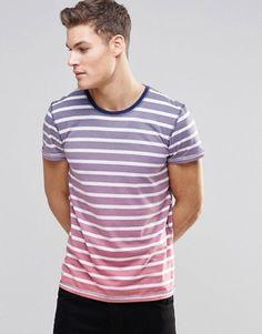 Esprit Stripe Dip Dye T-Shirt £15.00 @ Asos