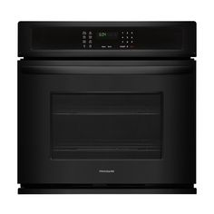 """Frigidaire - 27"""" Built-In Single Electric Wall Oven - Black"""