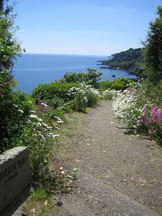 Walking towards Fermain Bay