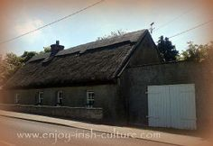 Thatched Irish cottage in County Galway, Ireland. Click on the photo to see it alongside many other beautiful Ireland photos on our Facebook page.