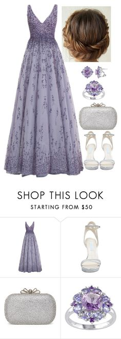 """Untitled #3103"" by natalyasidunova ❤ liked on Polyvore featuring Monique Lhuillier and Betsey Johnson"