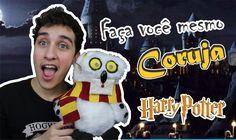 DIY; Faça você mesmo! Coruja Fofinha - Harry Potter! #potterweek