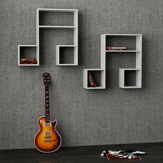 LaSiDo Wall Shelf (Set of 2)