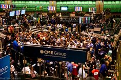 Almost closing Bell at the Chicago Mercantile Exchange (DATCAM)