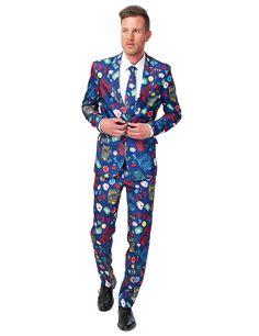 De leukste en meest chique carnavalskleding voor mannen kunt u bestellen bij Vegaoo! Bestel snel dit chique Vegas kostuum voor mannen van  Suitmeister™