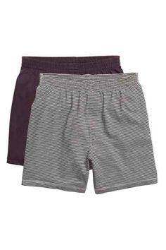Set van 2 pyjamashorts