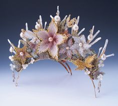 A Language No Longer Spoken, Parure: Ante Meridiem Tiara | Ohio Designer Craftsmen