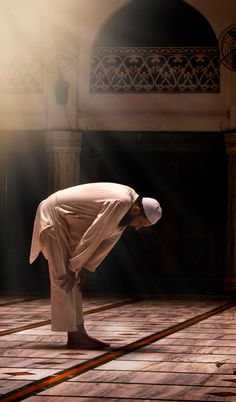 """ Allah says: ""Successful indeed are the believers, those who offer their salaah (prayers) with all solemnity and full submissiveness."" (Qur'an,"