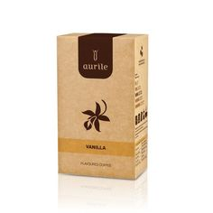 AURILE VANILLA £7.49 Vanilla flavoured ground coffee. Exotic, sweet aroma of vanilla is a perfect complement to the natural coffee flavour. Introduces warm and joyful notes to the composition. A real treat for the senses! Contains no sugar or sweeteners. #coffee #flavoredcoffee #vanilla #flavour #drink #coffeeaddict #aurile