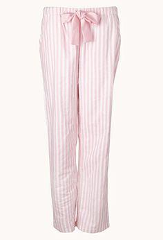 Comfy Striped PJ Pants | FOREVER21 - 2031558127