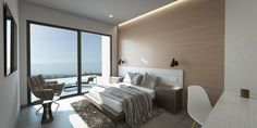 master bedroom Malaga Airport, Modern Townhouse, Andalucia, Mountain View, Master Bedroom, Furniture, Home Decor, Master Suite, Decoration Home